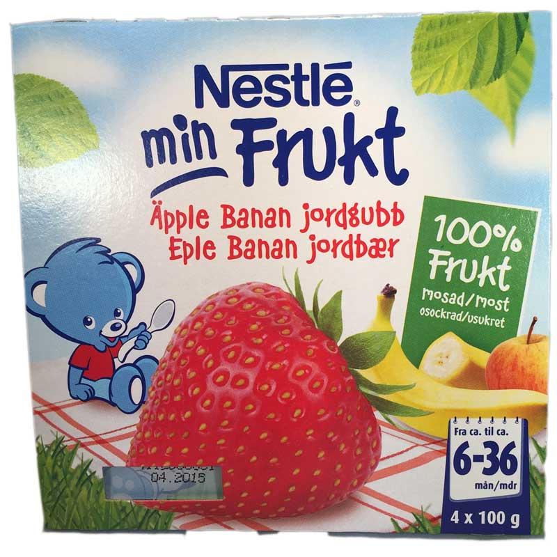 Min Frukt äpple, banan & Jordgubbar - 42% rabatt