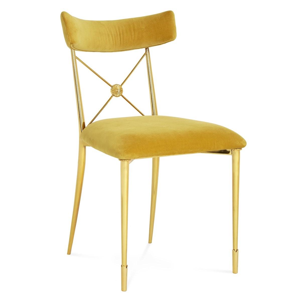 Jonathan Adler I Rider Dining Chair I Rialto Gold