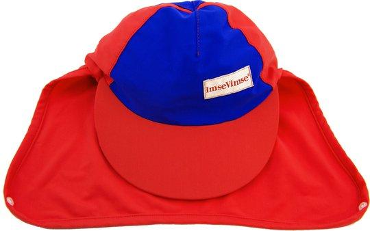 ImseVimse UV-Caps, Red/Blue 62-80