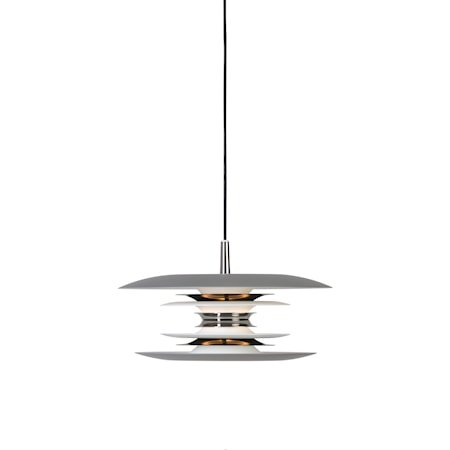 Diablo Pendel Grå/Blank svart LED 30 cm