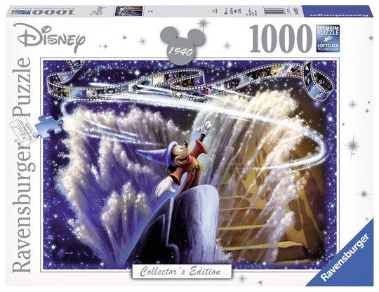 Ravensburger Puslespill Disney Fantasia, 1000 Brikker