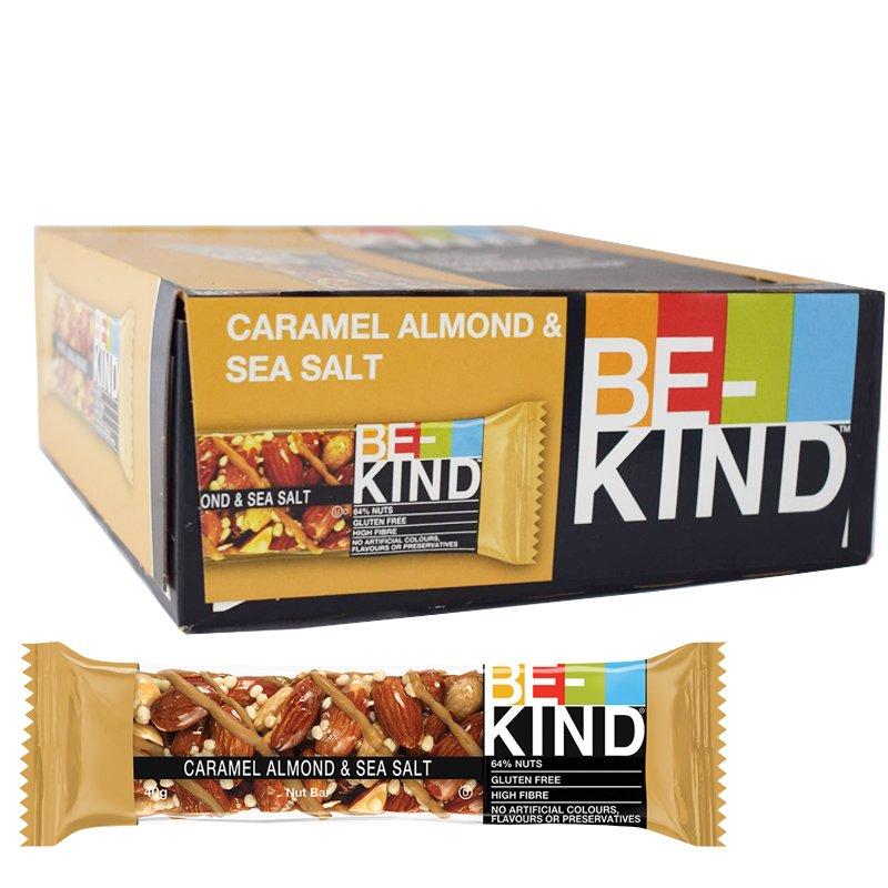 Bar karamell, mandlar & havssalt 12-pack - 32% rabatt