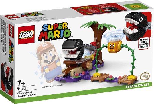 LEGO Super Mario 71381 Ekstrabanesett Chain Chomps Jungeleventyr