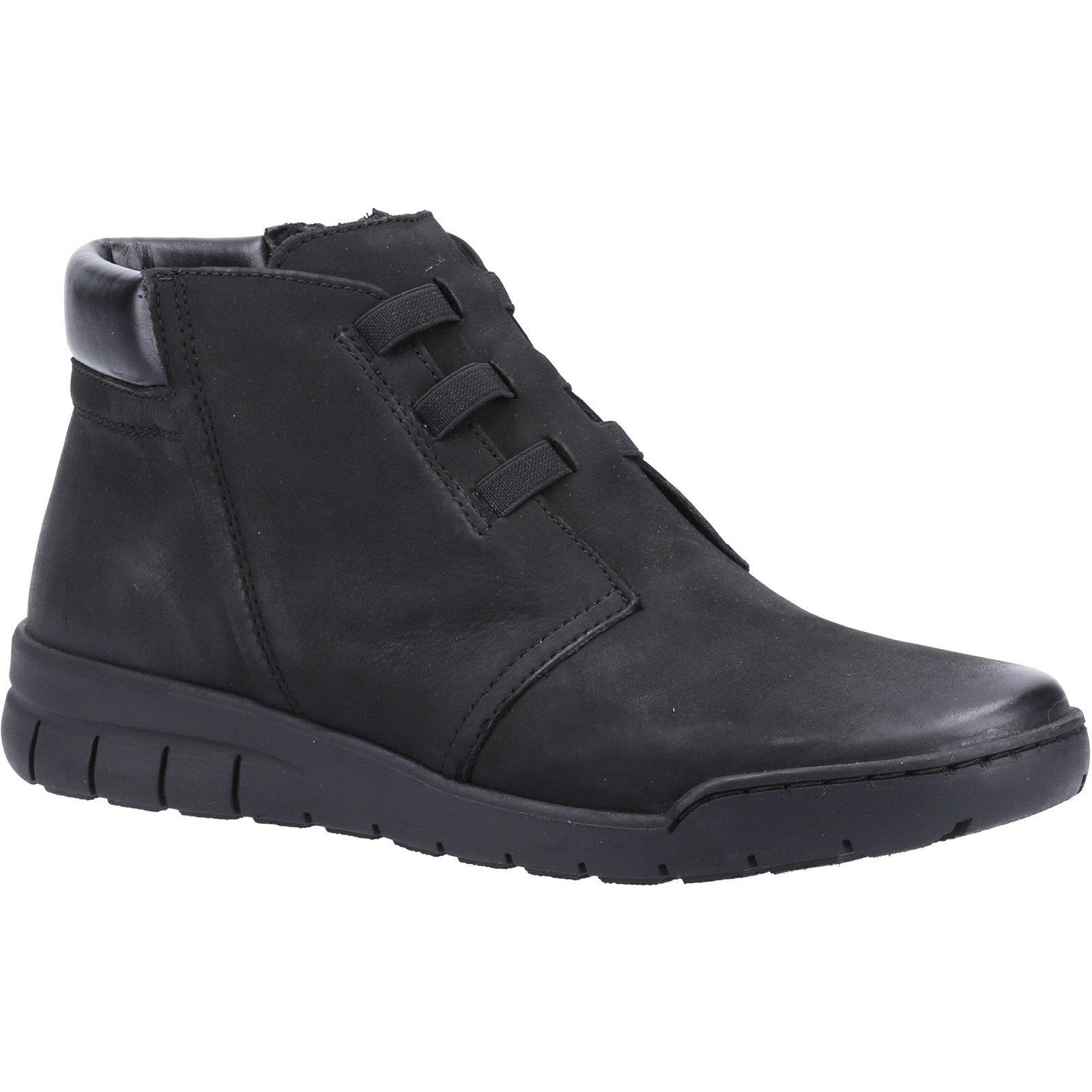 Fleet & Foster Women's Carmen Zip Ankle Boot Various Colours 33017 - Black 3