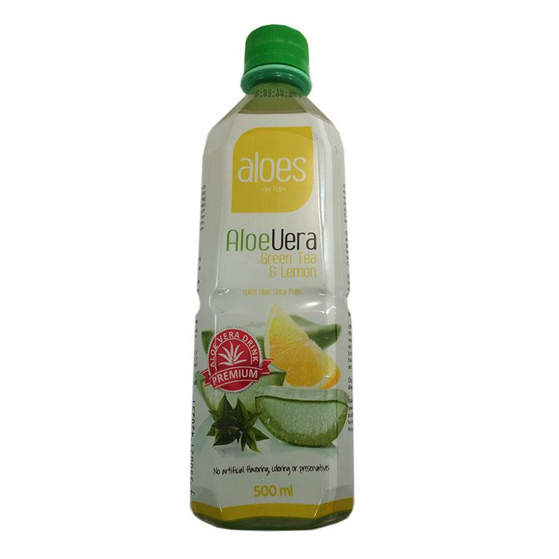 Aloe Vera grönt te & citron - 64% rabatt