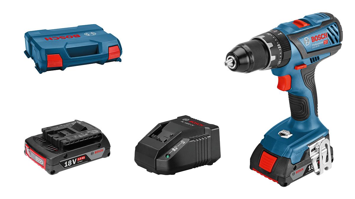Bosch Professional - GSB 18V-28 - Cordless Combi Driver - Battery & Case Set