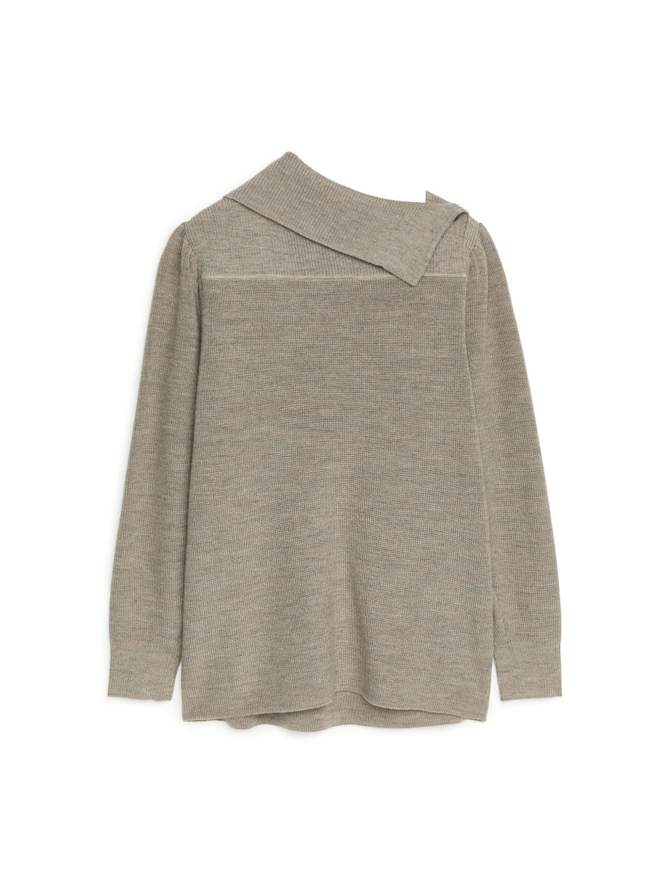 Cotton Wool Jumper - Beige