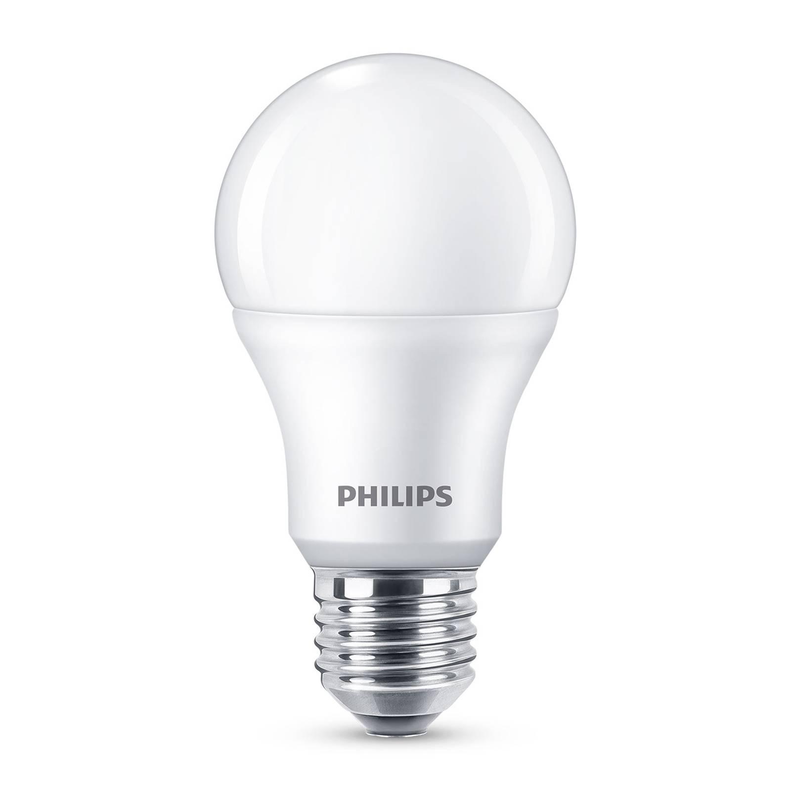 Philips E27 LED-lamppu A60 8W 2 700 K 6 kpl