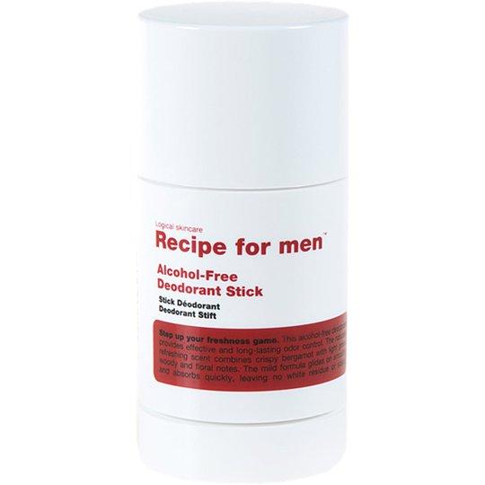 Recipe For Men Alcohol-Free Deodorant Stick, 75 ml Recipe for men Miesten deodorantit