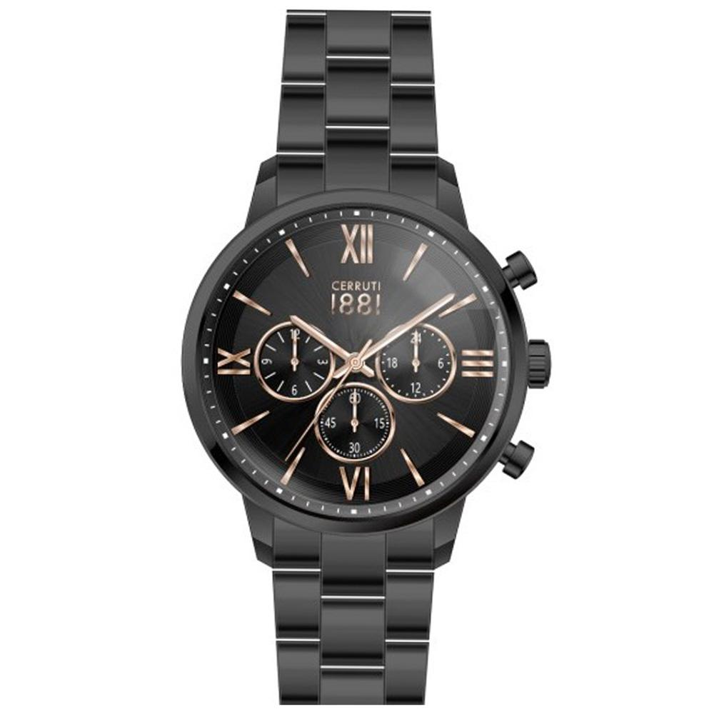 Cerruti 1881 Men's Watch Black CRA23408