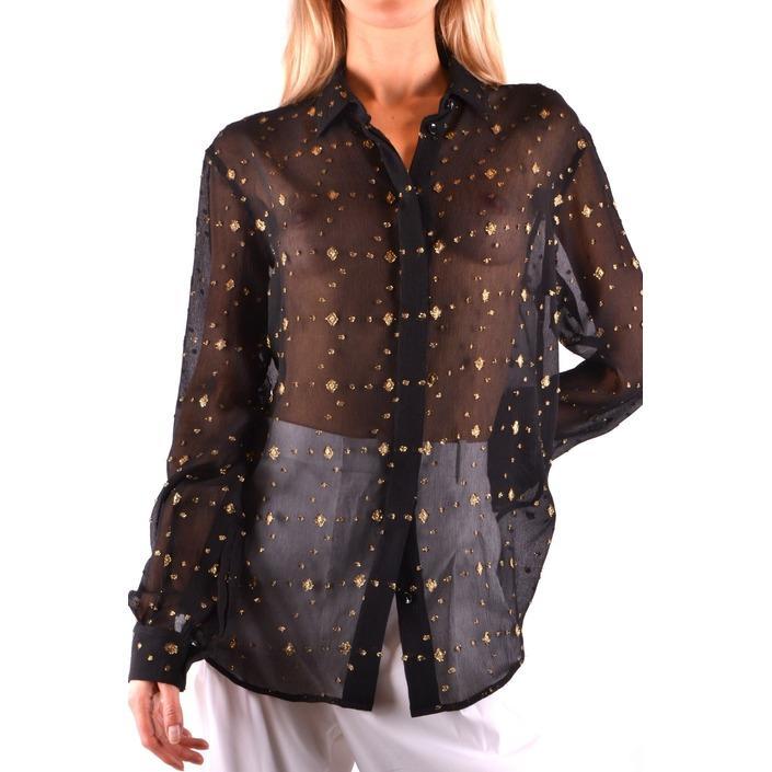 Saint Laurent Women's Shirt Black 164442 - black 38