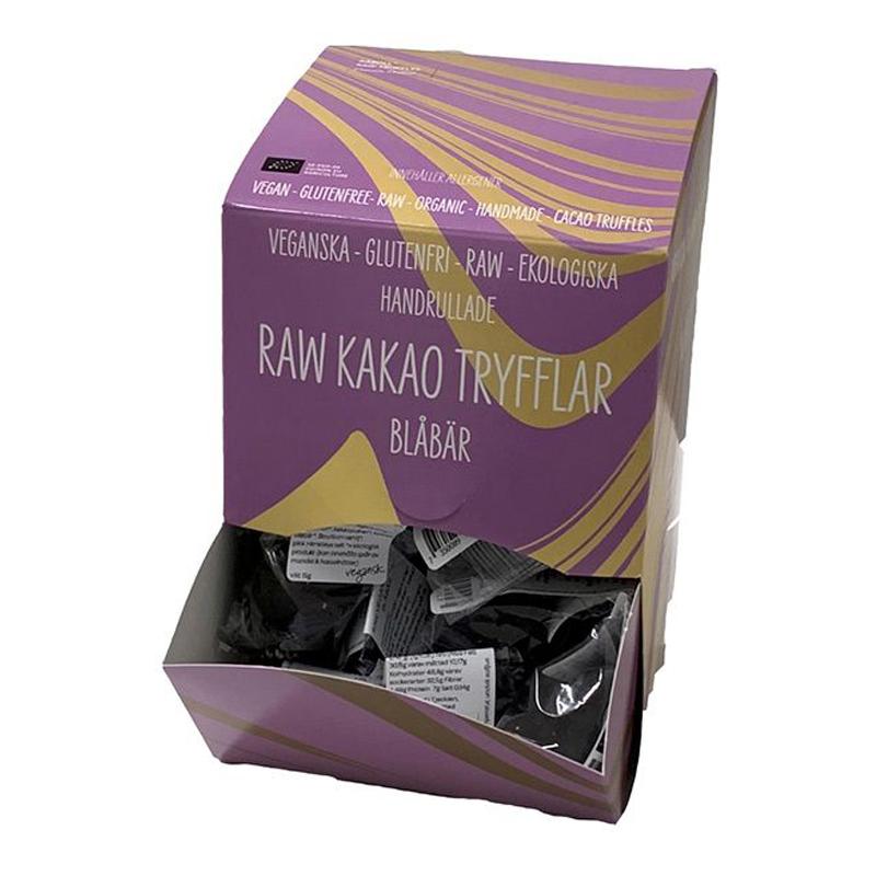 Eko Raw Tryffell Blåbär 40-pack - 60% rabatt