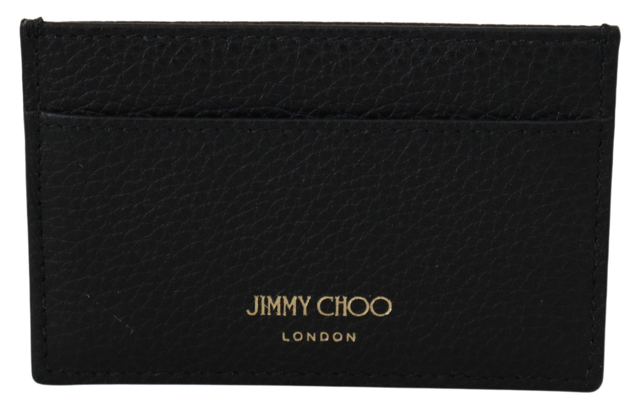 Jimmy Choo Women's Aarna Card Holder Black 1435895