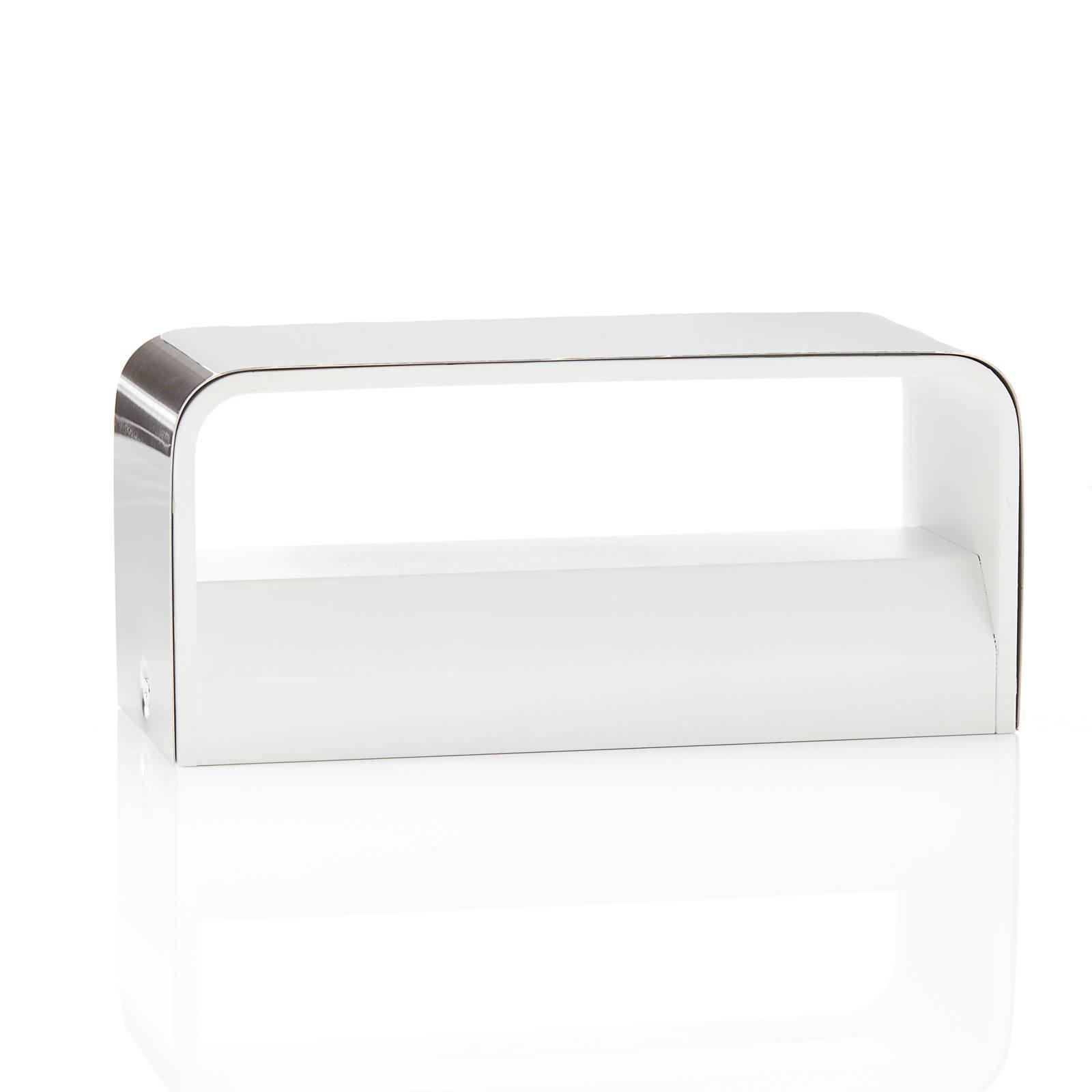 Lucande Sessa LED-vegglampe 20 cm matt nikkel