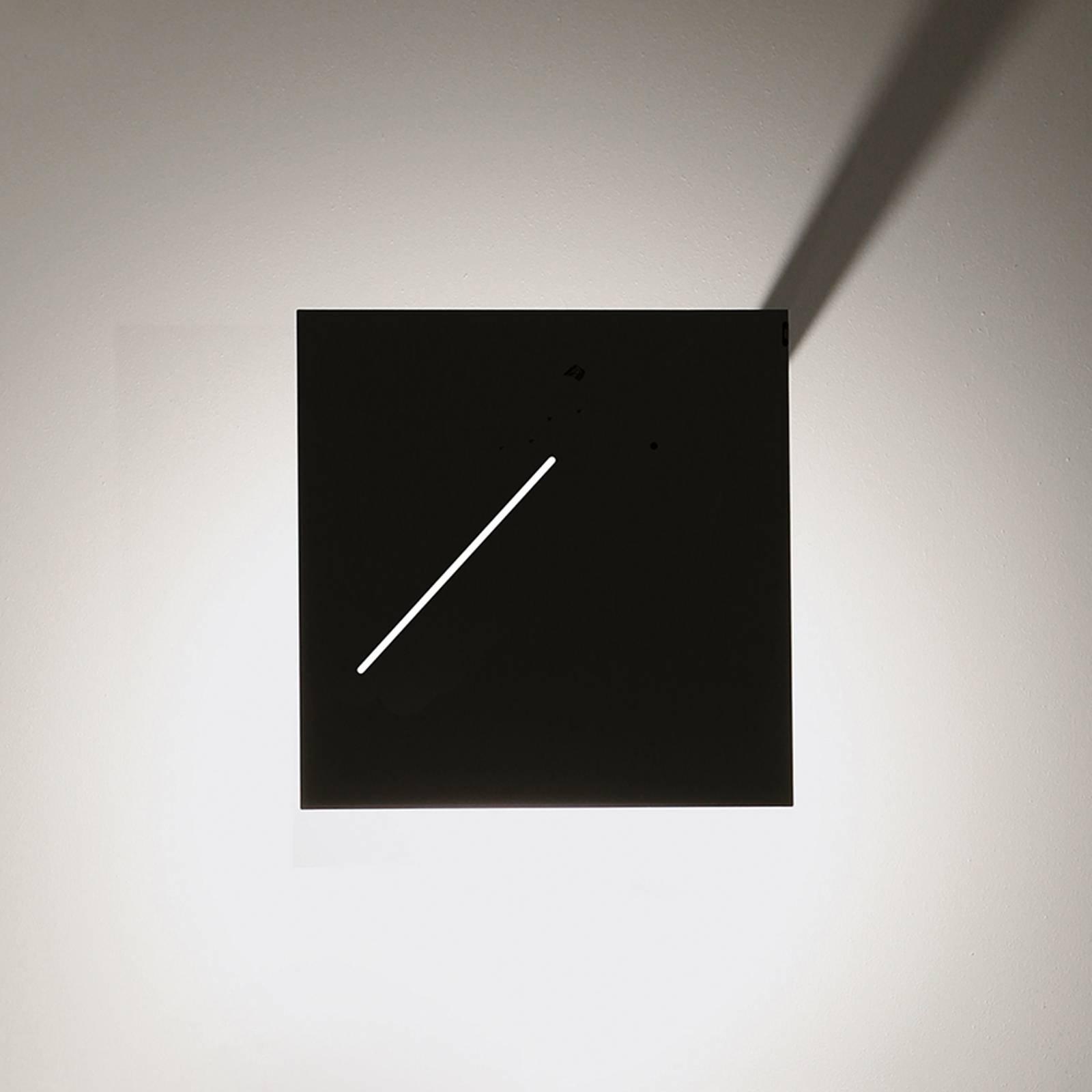 Knikerboker Des.agn - LED-vegglampe, svart