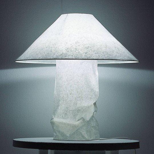 Ingo Maurer Lampampe bordlampe av japanpapir