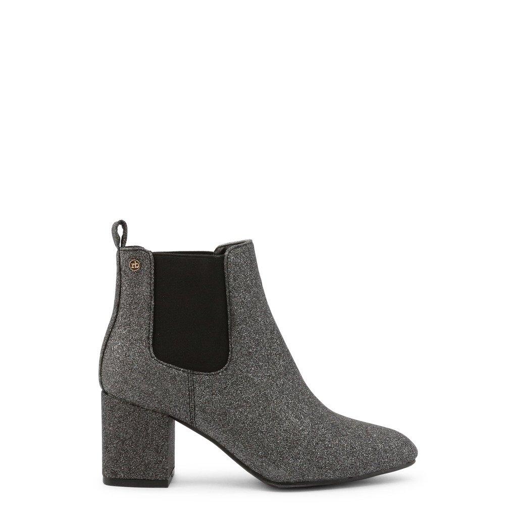Roccobarocco Women's Ankle Boot Grey RBSC1LH02GLISTD - grey EU 37