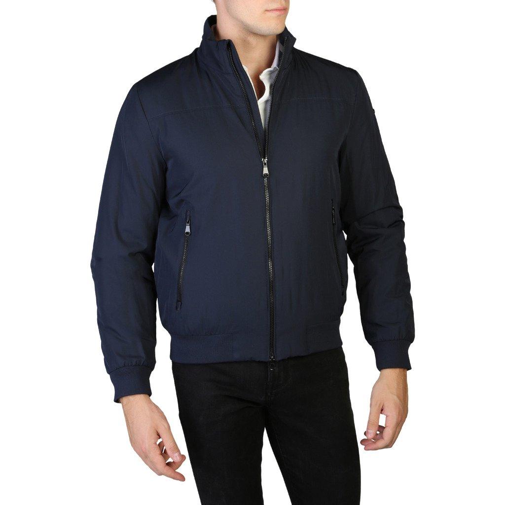 Geox Men's Jacket Blue M9420CT2585 - blue 60