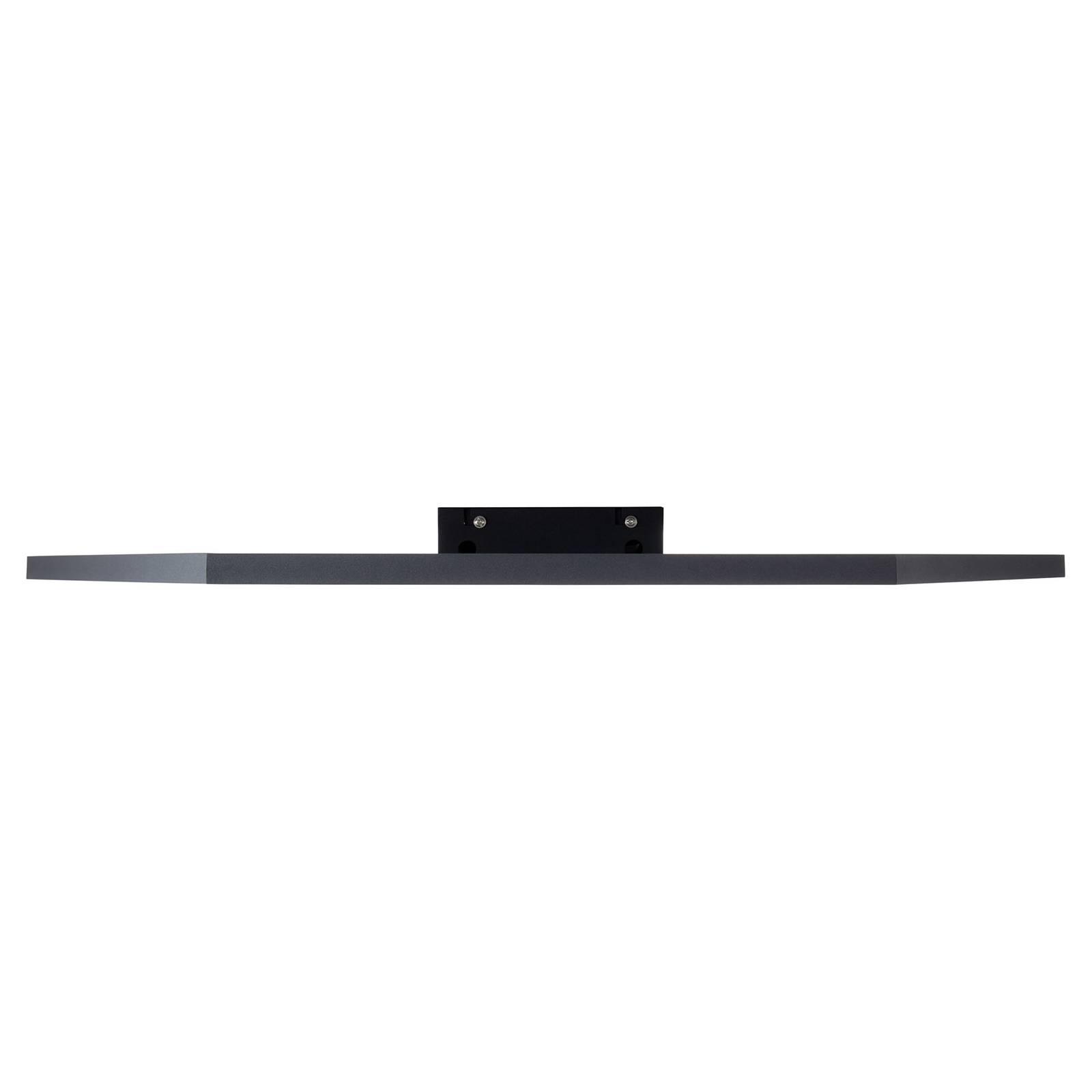 AEG Evyn -LED-paneeli 6-kulmainen musta Ø80cm CCT