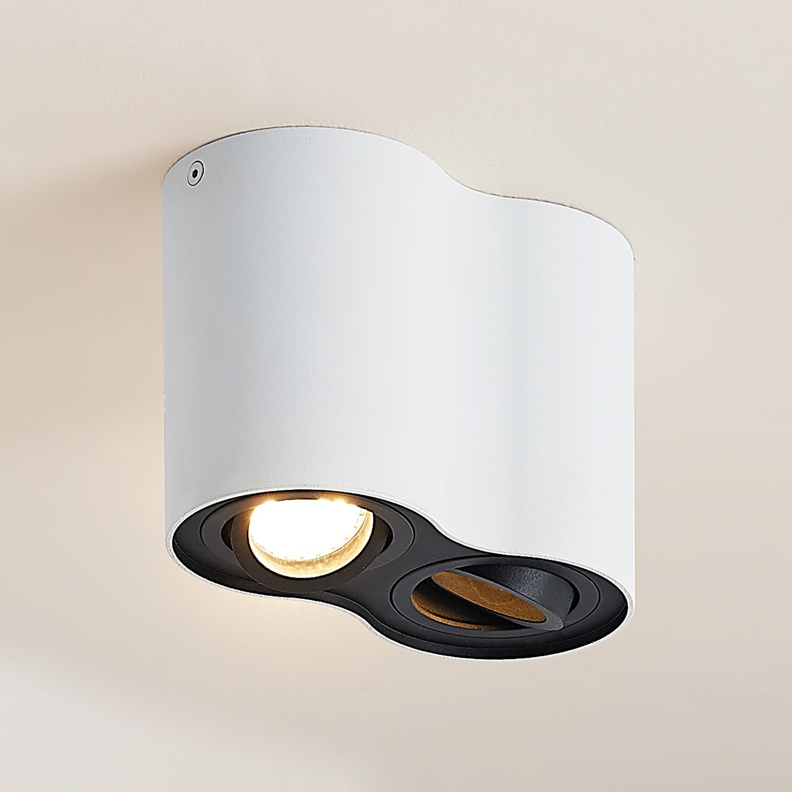 Arcchio Hermalina -kattovalaisin, pyöreä, 2-lamp.