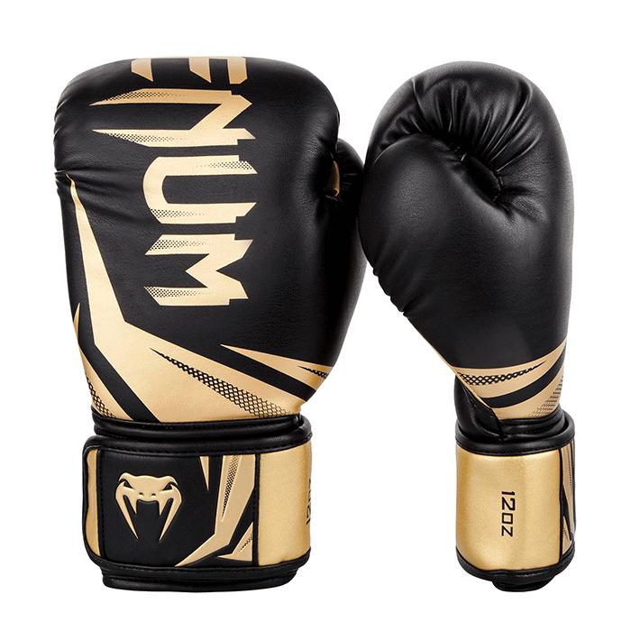 Venum Challenger 3.0 Boxing Gloves - Black/Gold