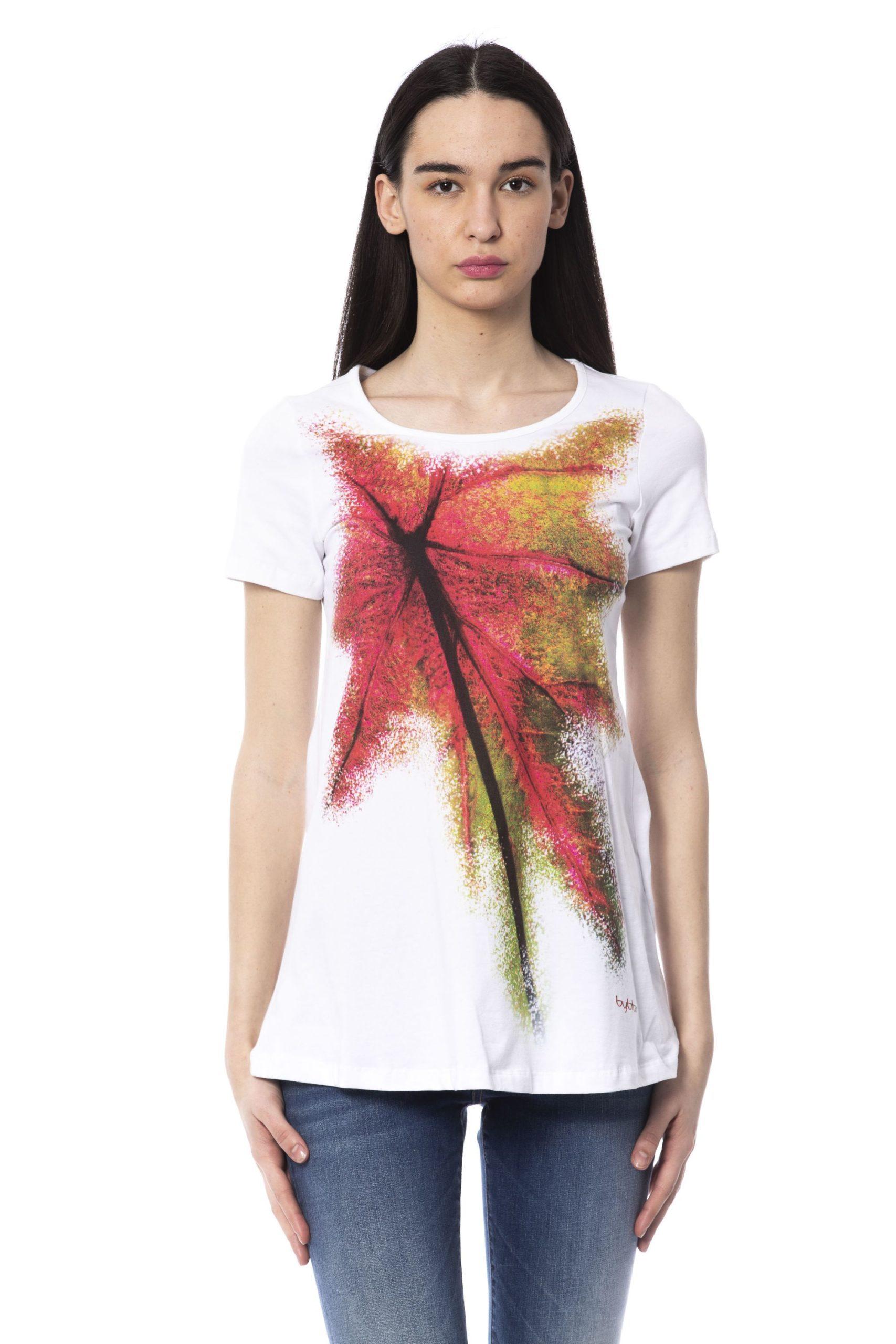 BYBLOS Women's Gtb T-Shirt White BY1234710 - S