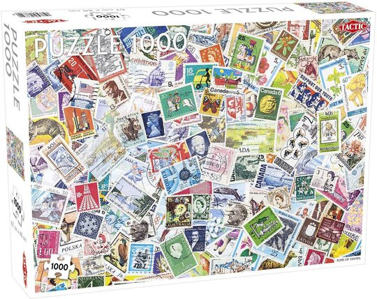 Tactic Puslespill Tons of Stamps 1000 brikker