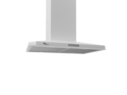 Thermex Decor 787 70cm Hvid Vägghängd Köksfläkt - Vit