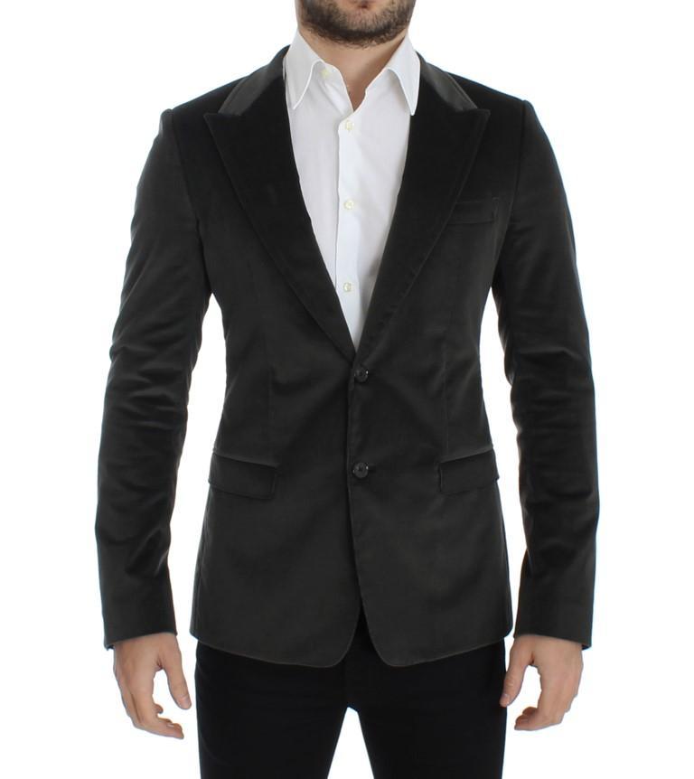 Dolce & Gabbana Men's manchester slim fit Blazer Green SIG12238 - IT48   M