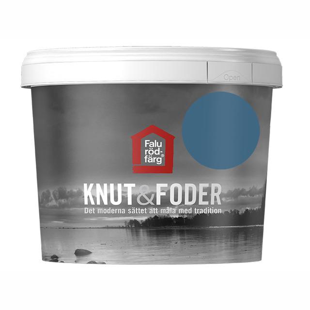 FALU RÖDFÄRG KNUT&FODER BLÅ 1L