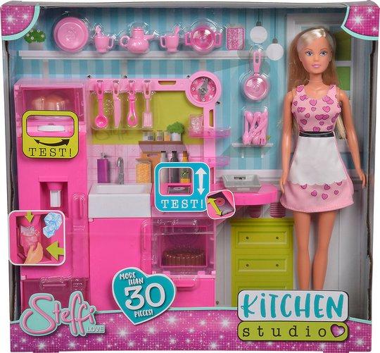 Steffi Love Dukke Kjøkkensett 30 deler