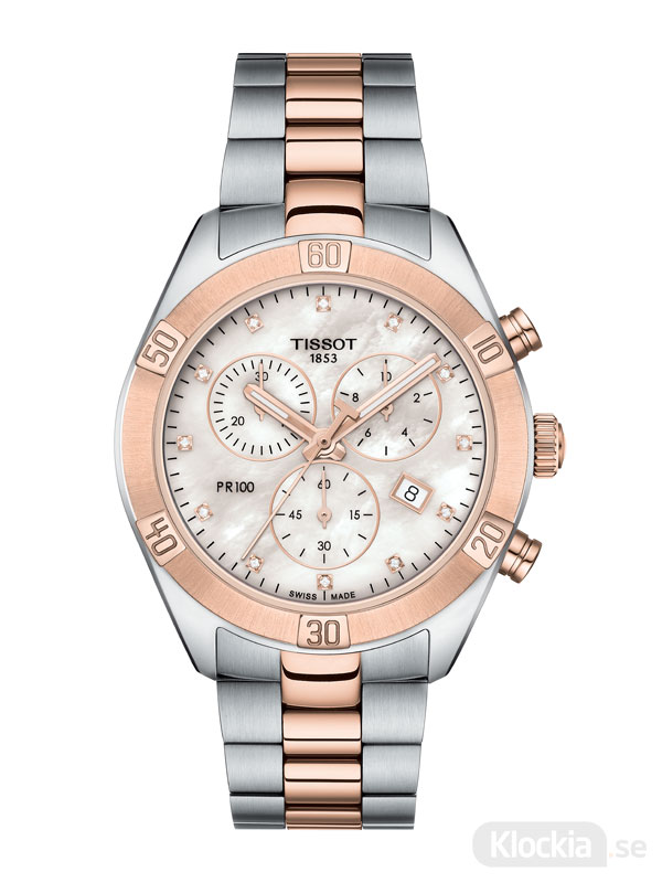 TISSOT PR100 Sport Lady Chic Chronograph T101.917.22.116.00