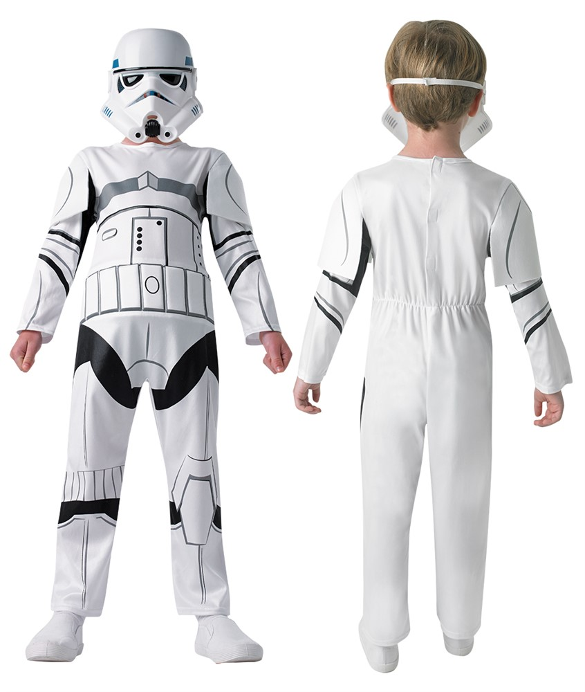 Star Wars - Stormtrooper - Childrens Costume (Size 128)