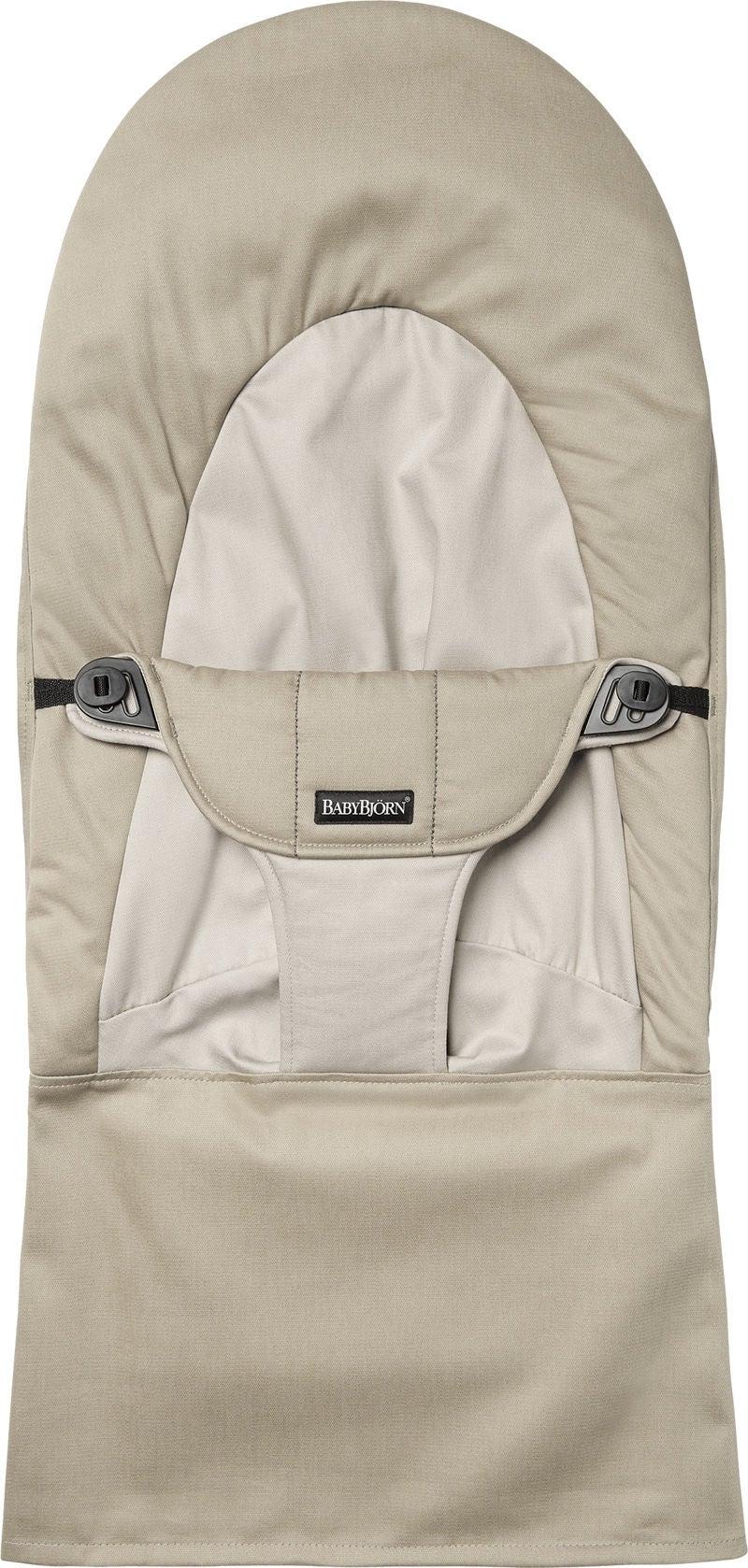BabyBjörn Balance Soft Tygsits, Khaki/Beige