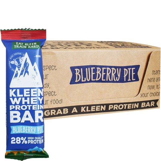 """Laatikollinen Proteiinipatukoita """"Blueberry Pie"""" 16 x 60g - 38% alennus"""