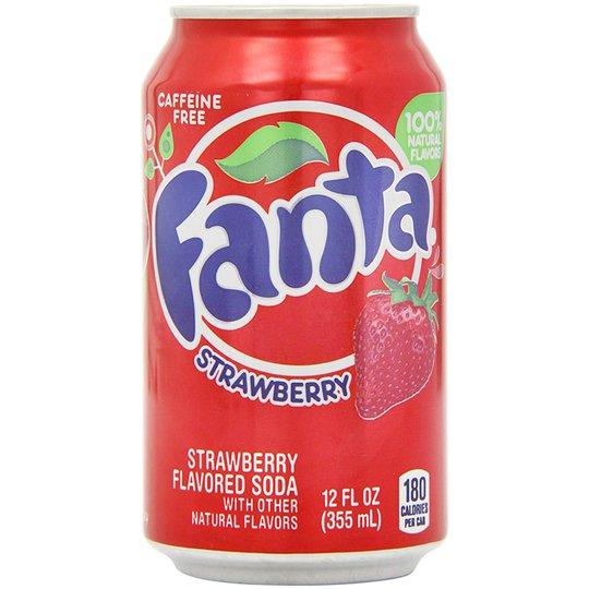 Virvoitusjuoma Fanta Strawberry - 0% alennus