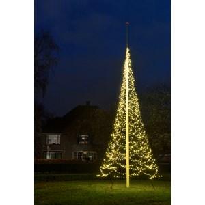 Julbelysning Fairybell Flaggstångsbelysning 10 meter, 7680 LED