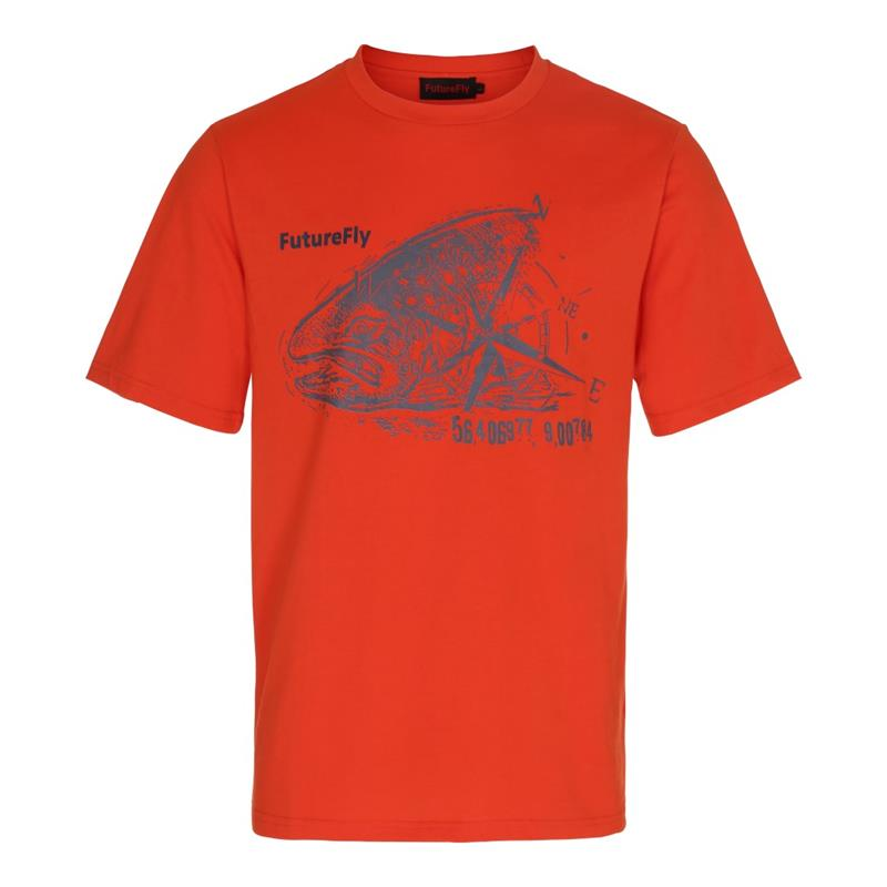 FutureFly Basic Line t-shirt M Orange