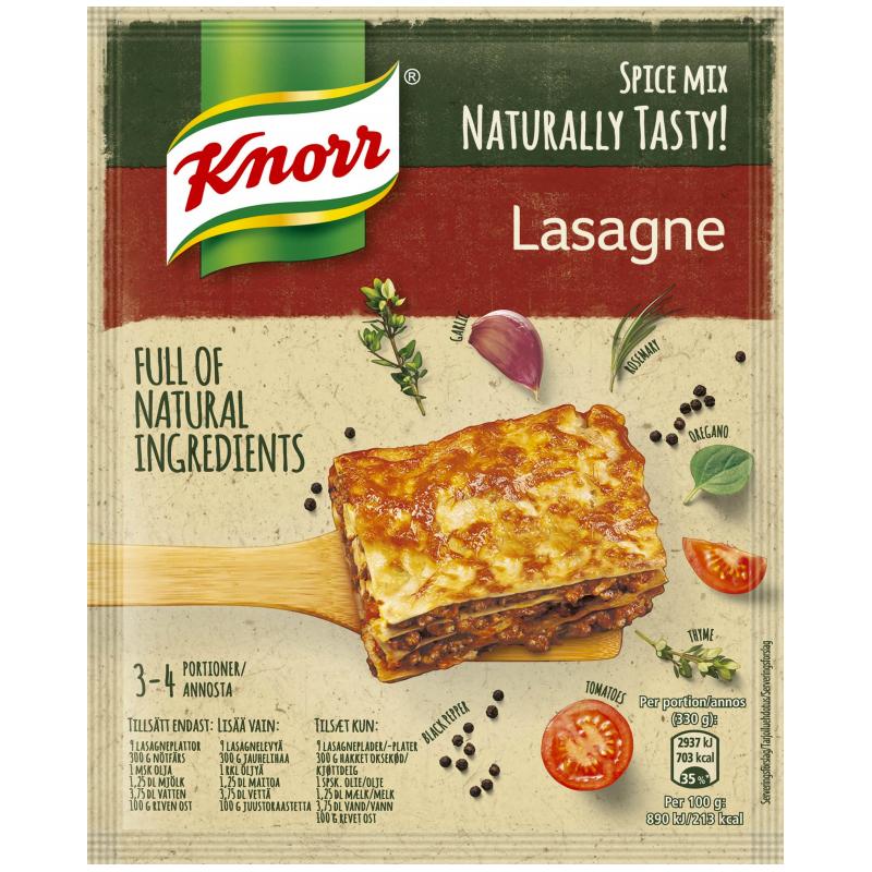 Mausteseos Lasagne 60g - 45% alennus