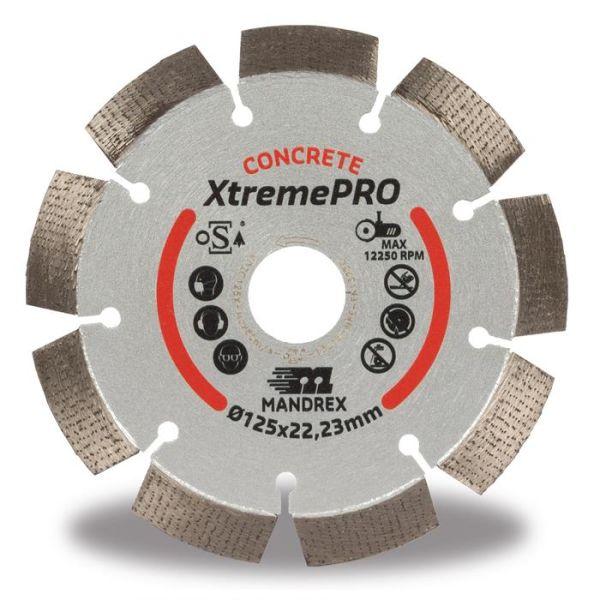 Mandrex Concrete XtremePRO Timanttikatkaisulaikka 115 mm