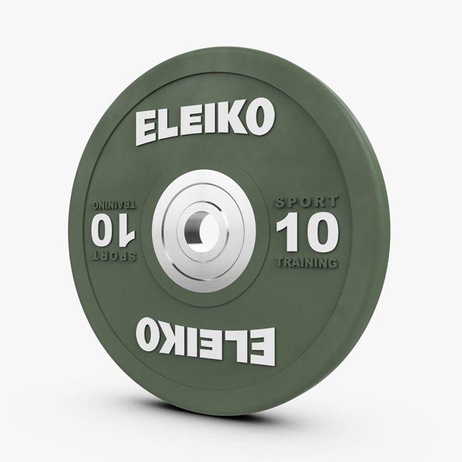 Eleiko Sport Training Disc, Viktskiva Gummerad