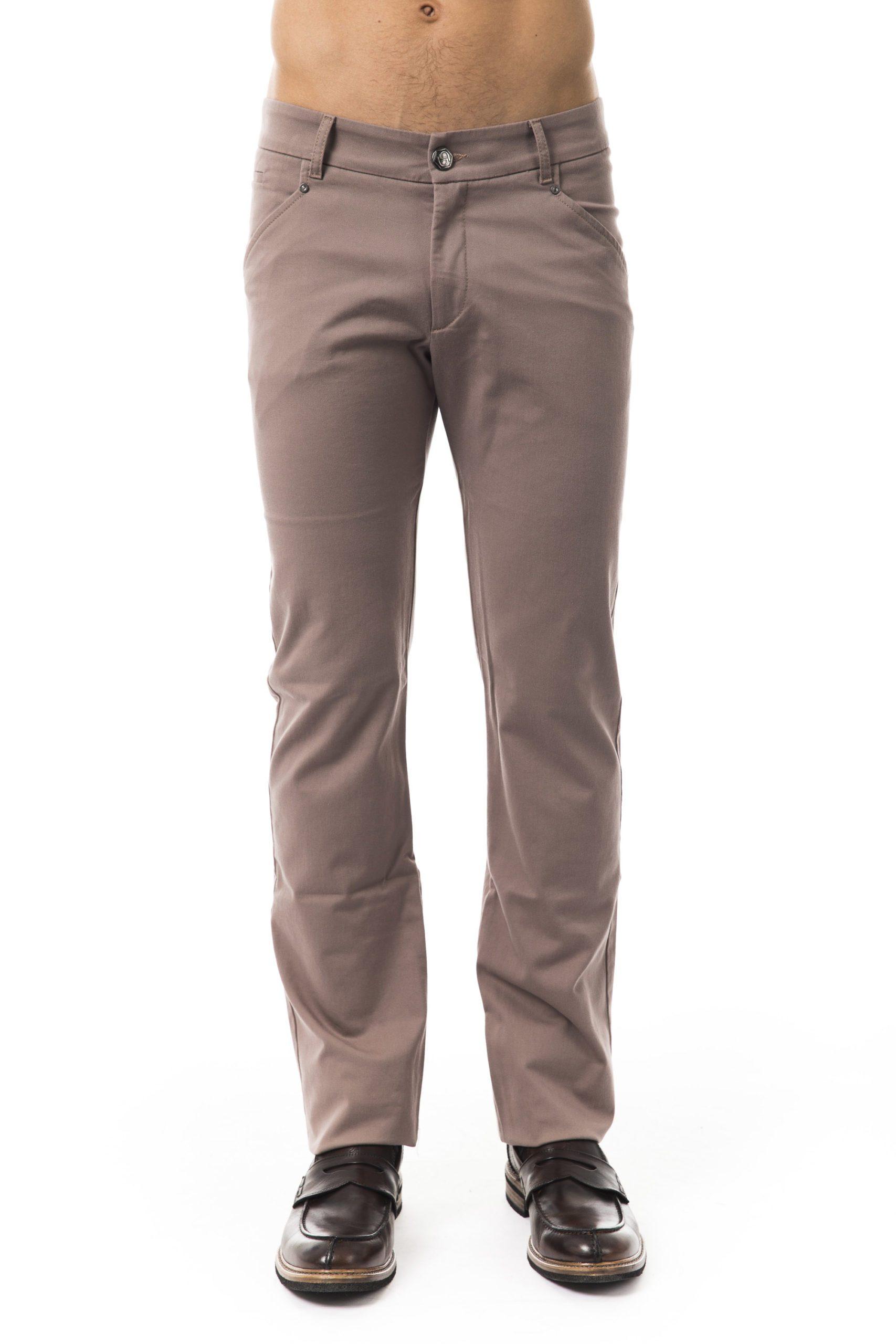 BYBLOS Men's Betulla Trouser Gray BY1394819 - IT54 | XL