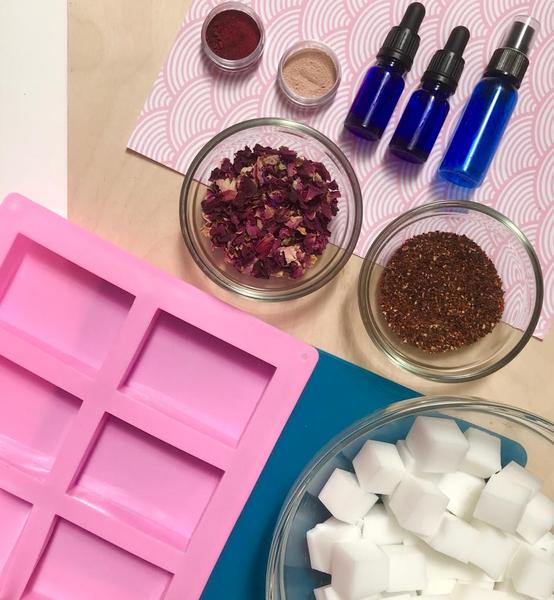 At Home: Make your Own Natural Soap