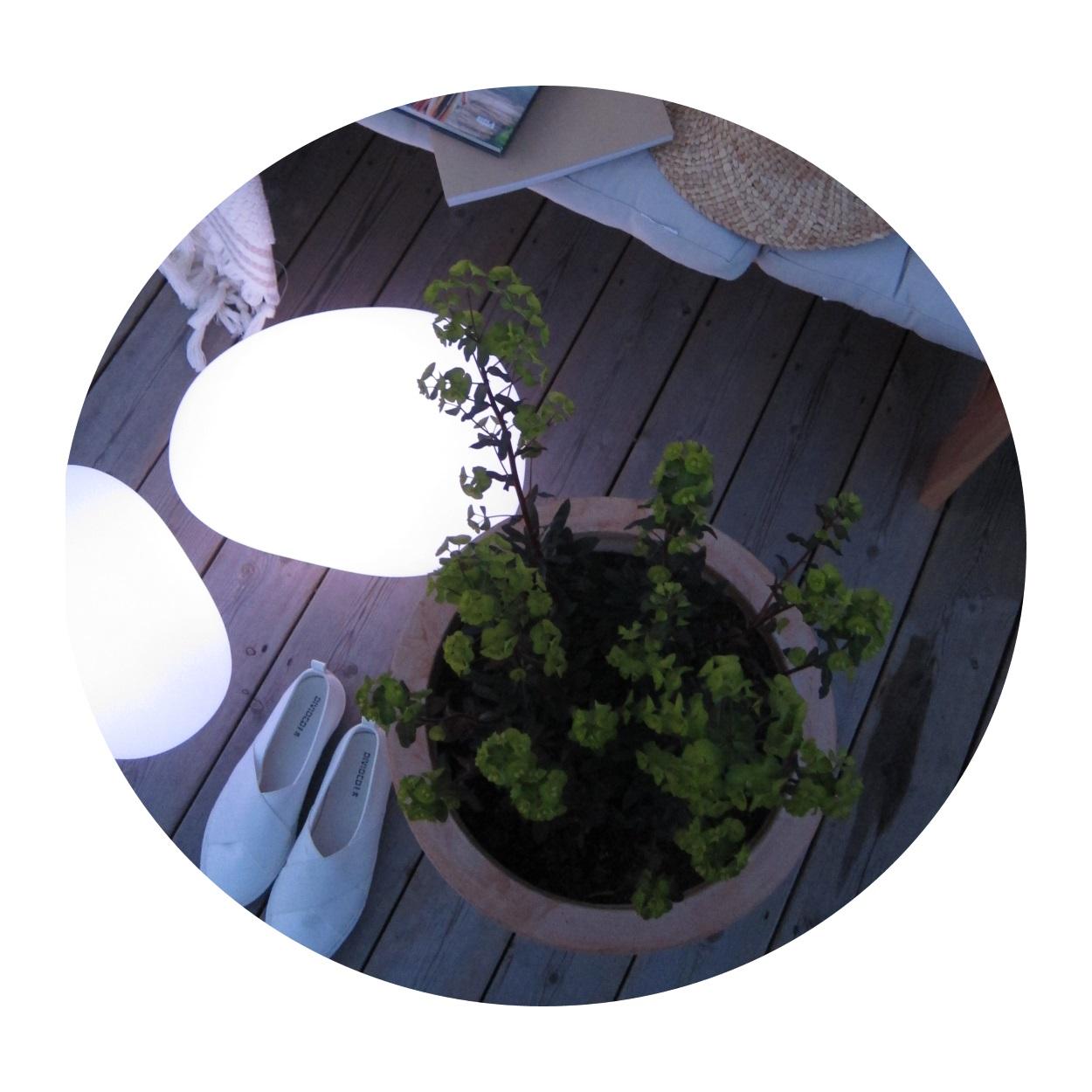 Trädgårdsbelysning Sten Solcell lampa mellan