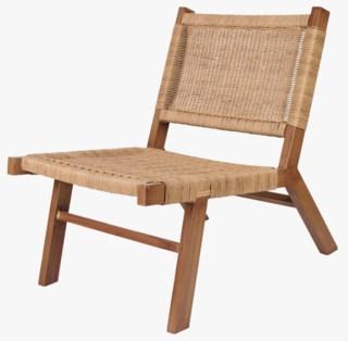 Liana flettet tuoli luonnonväri