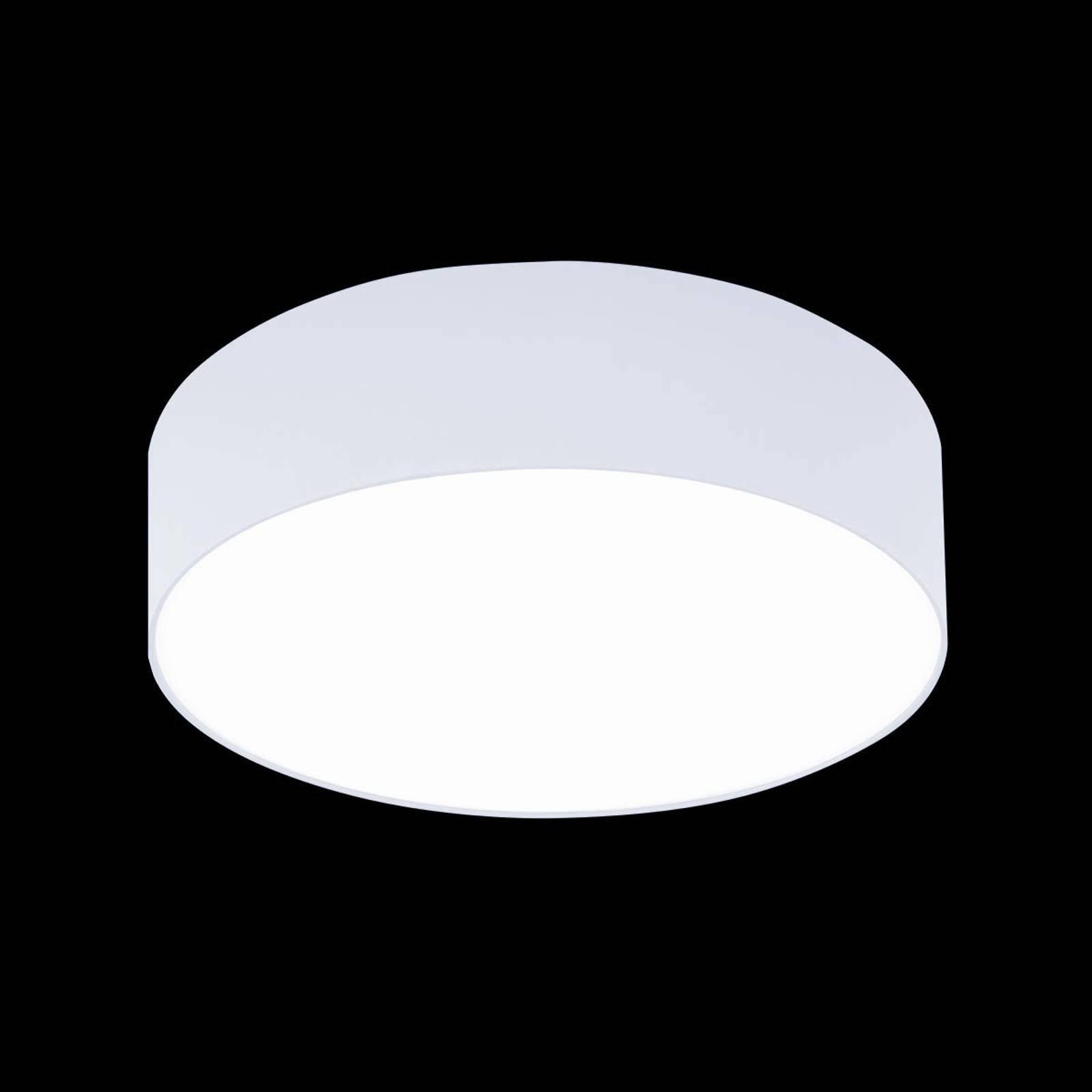 Hvit taklampe Mara, 50 cm