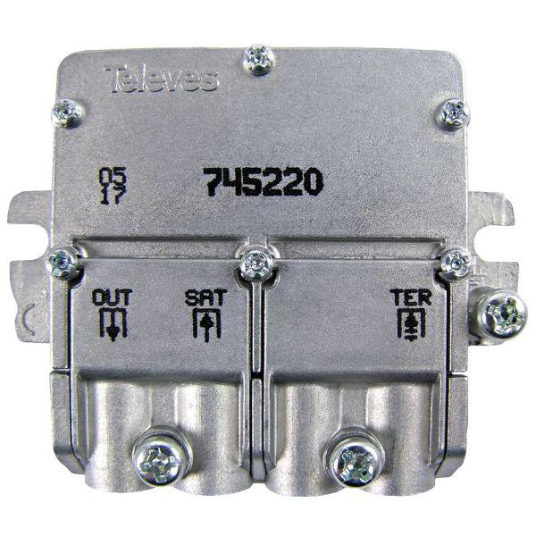 Televes 745220 Yhdistin easy-F miniformaatti