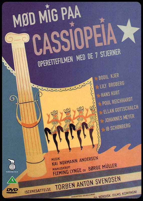 Mød mig paa Cassiopeia - DVD