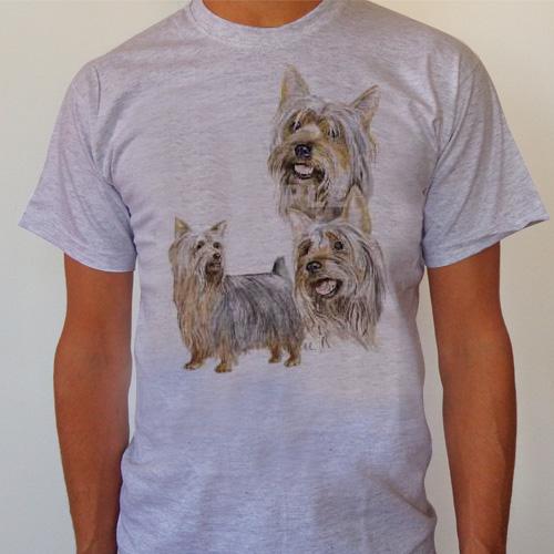 T-Shirt Silky Terrier Small