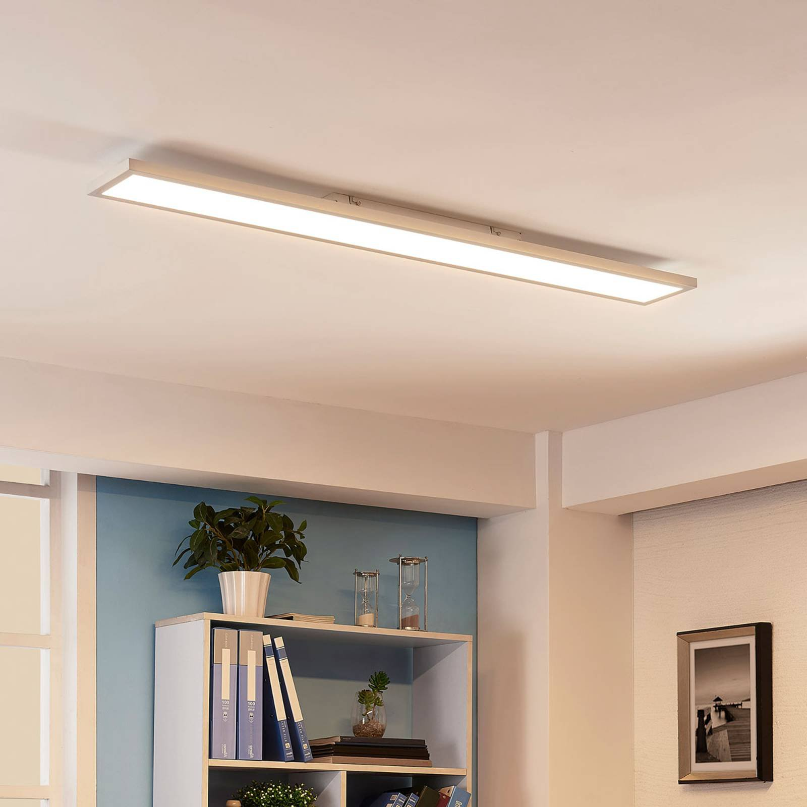 Avlang LED-taklampe Enora, 40 W